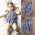 Infant Baby Girl Striped Romper Jumpsuit Outfit Onesies Sunsuit Clothes 2016 NEW Fashion