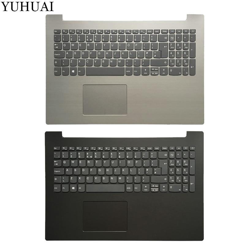 New Lenovo Ideapad 320-15 320-15ISK//IKB//AST//ABR Palmrest Cover US Keyboard Blue