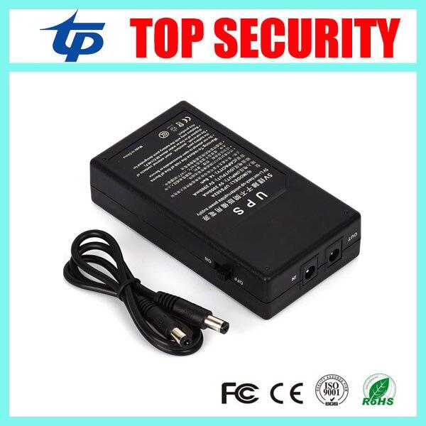 5V UPS for TX628, U160, X628, S30, UA100, UA200 time attendance system 5V external back up battery  цена и фото