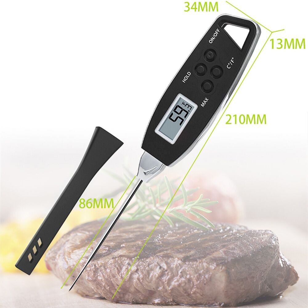 Digital Food Cooking Thermometer Instant Read Meat ...