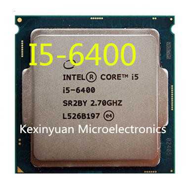 Intel Core I5-6400 I5 6400 2.7 GHz Quad-Core Quad-Thread CPU Processor 6M 65W LGA 1151