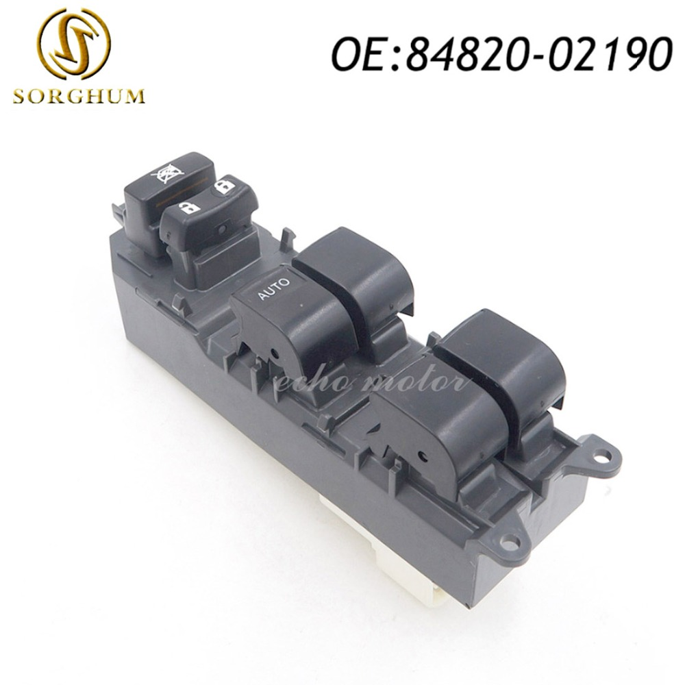 New Power Window Master Control Switch For Toyota Camry 2007-2012 84820-02190