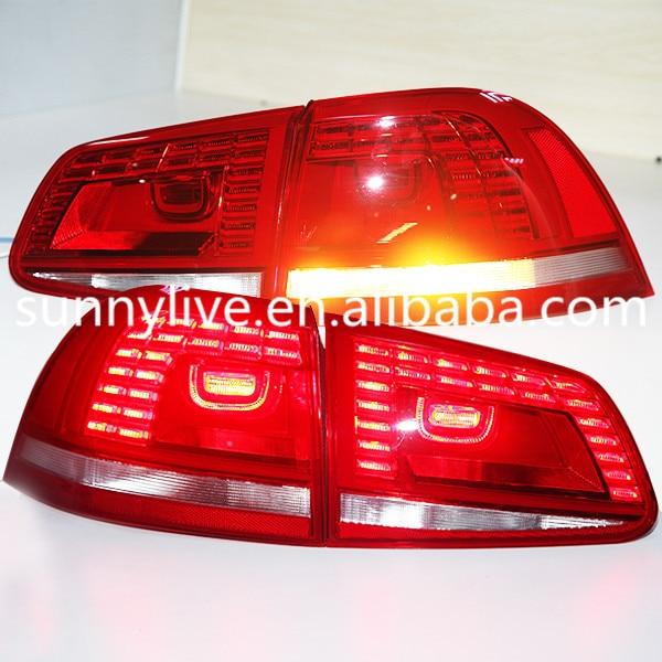 For VW Touareg LED Tail Lamp LED Rearlights back lights 2011 2014 ...