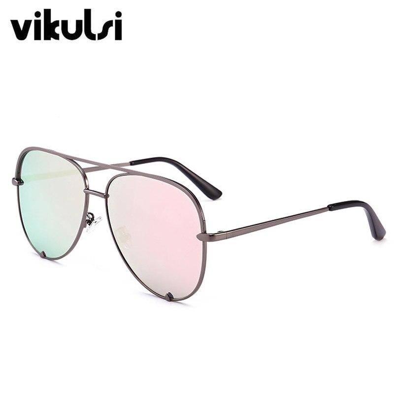 Nowe markowe Damskie modne okulary przeciwsłoneczne pilotki
