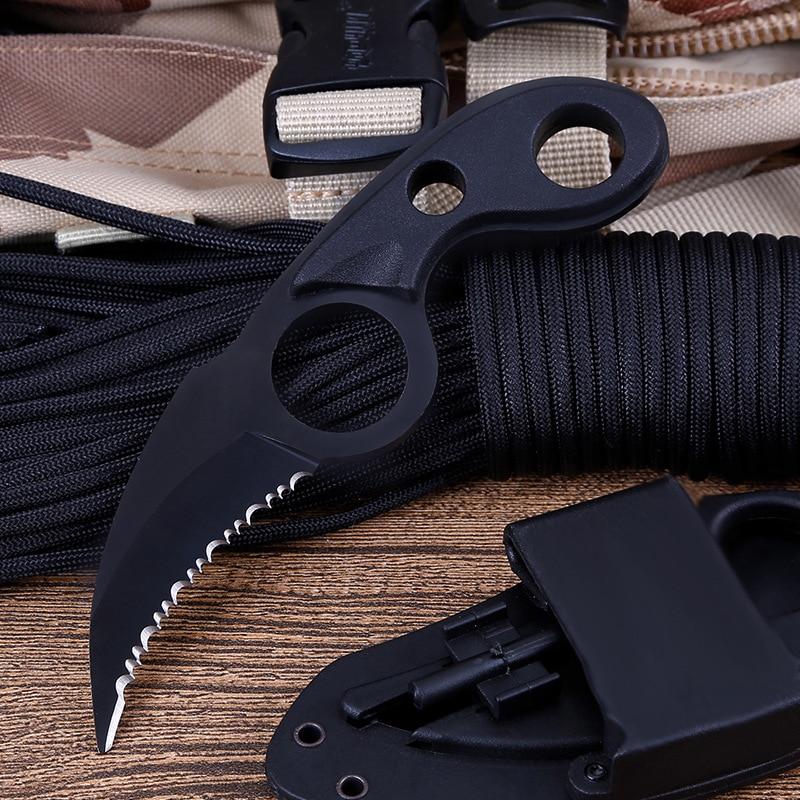 CS GO Hawkbill taktikaline küünis nuga karambit kaelas nuga - Käsitööriistad - Foto 2