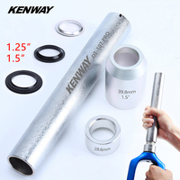 Mountain Bike Fork Base Installation Tool cycling Headset Bottom Washer Setting Tools for 28.6mm 39.8mm 1.5 1.25 Fork KENWAY