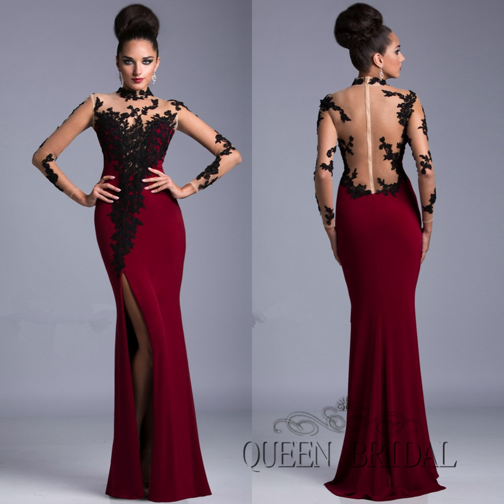 Aliexpress.com : Buy sexy prom dresses 2015 new arrival lace long ...