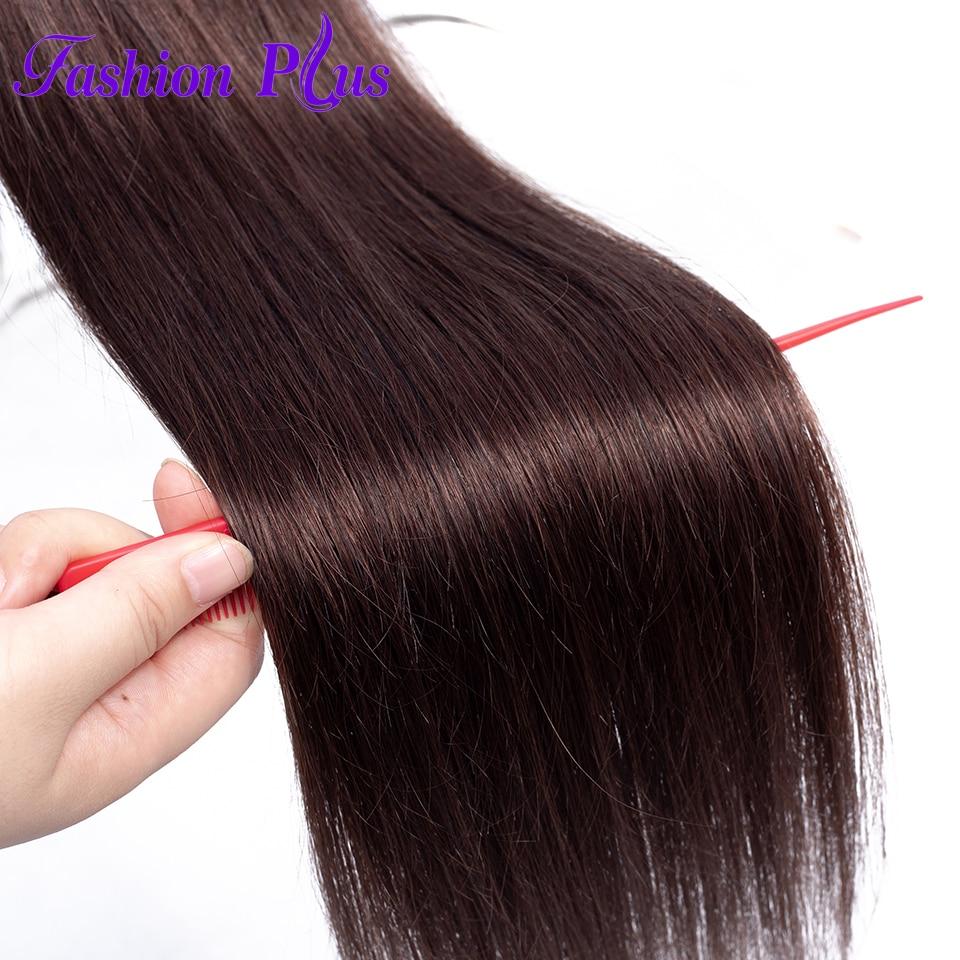 Rosa vlasové produkty Peruánské panenské vlasy Straight - Lidské vlasy (pro bílé) - Fotografie 6