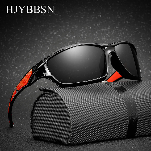 6289c73bb Sport Polarized Sunglasses Polaroid sun glasses Mirror Windproof Goggles  UV400 sunglasses for men women Eyewear De