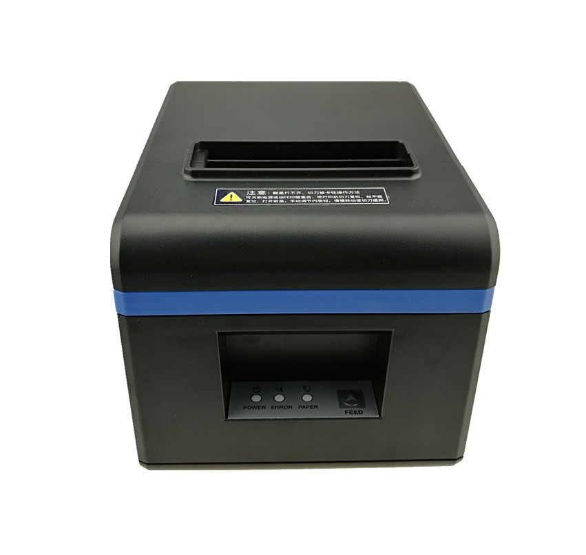 Free Shipping 80mm Thermal Receipt Printer USB/Ethernal Port Bill Kitchen Restaurant with Auto Cutter for POS/Restaurant/Shop