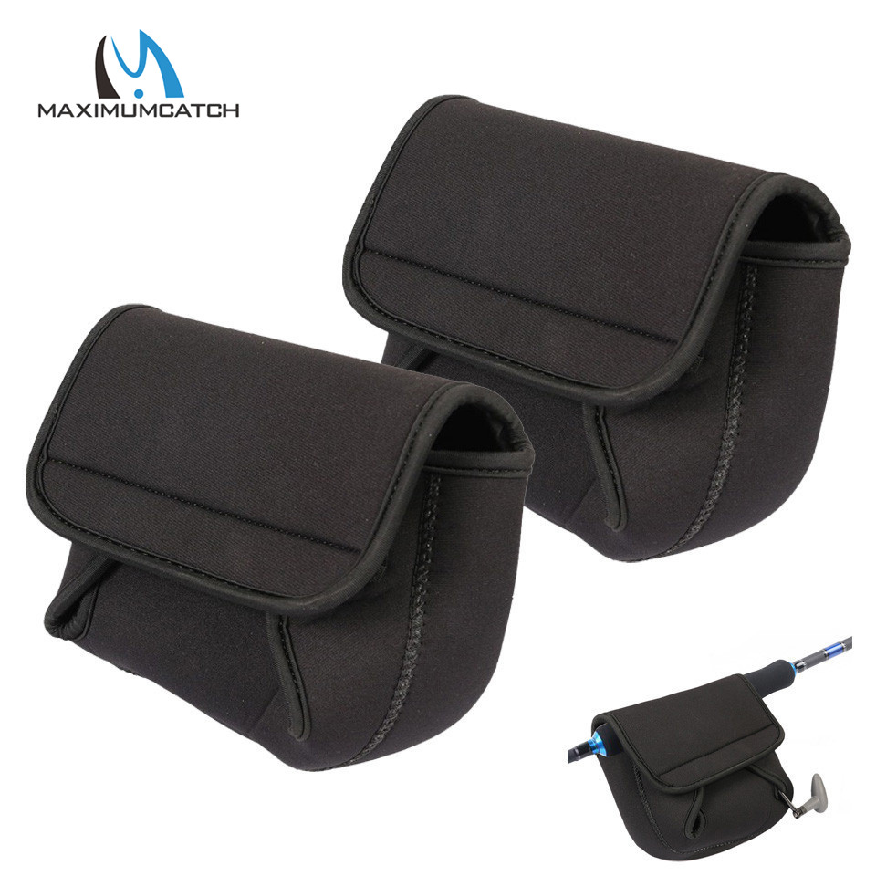 Maximumcatch 2pcs X3000-8000 Series Spinning Reel Bag Fishing Reel Pouch Reel Cover Fishing Tackle Box