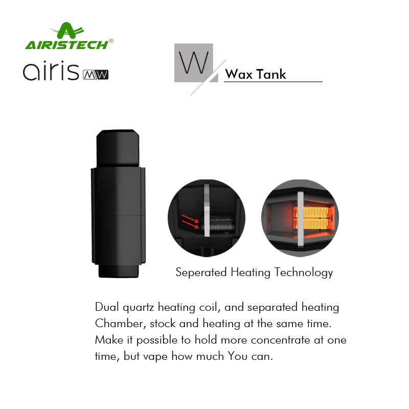 Original-Airistech-Airis-MW-Vaporizer-2-IN-1-Wax-Oil-Vape-Pod-Pen-420Mah-Battery-Plug