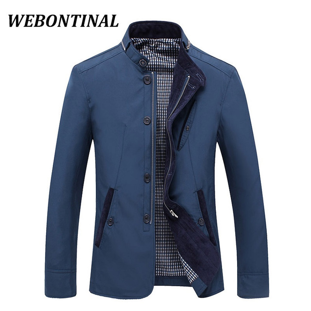 pas mal f7872 6eaf3 US $25.41  WEBONTINAL 2017 Male Jackets Thin Spring Autumn Coats Quality  Casual Windrunner Jacket Men Windbreakers And Veste Man Outerwear-in  Jackets ...