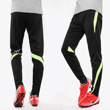 2017 18 Men Soccer Training Pants Sports jogging survetement football Running Pant Slim Skinny trousers Leg Quick-drying zipper
