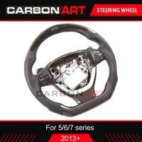 5 Series F10 LED race display steering wheel For BMW F10 520i 523i 525i 530i 535i 2010+ 6 7 series 640i 650i M6 640d 2012+