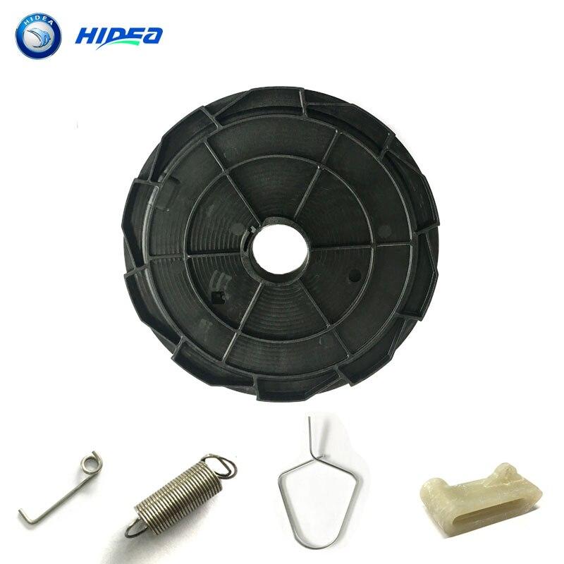 Hidea, rueda de arranque Hidea para Hidea F25, piezas de repuesto para Motor de barco, brazo de transmisión de resorte de retorno