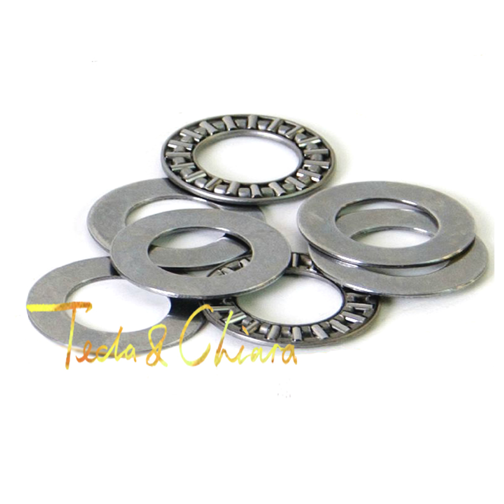 1Pc / 1Piece AXK1024 10 X 24 X 4 Mm & 2AS Thrust Needle Roller Bearing Washers High Quality * AXK