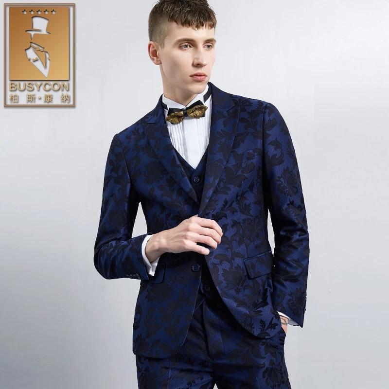 Coat pant blue dark The Best
