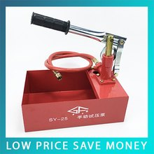 SY-40 Ручного Гидравлического Насоса Испытания Давления 0-40 кг Испытания Насоса
