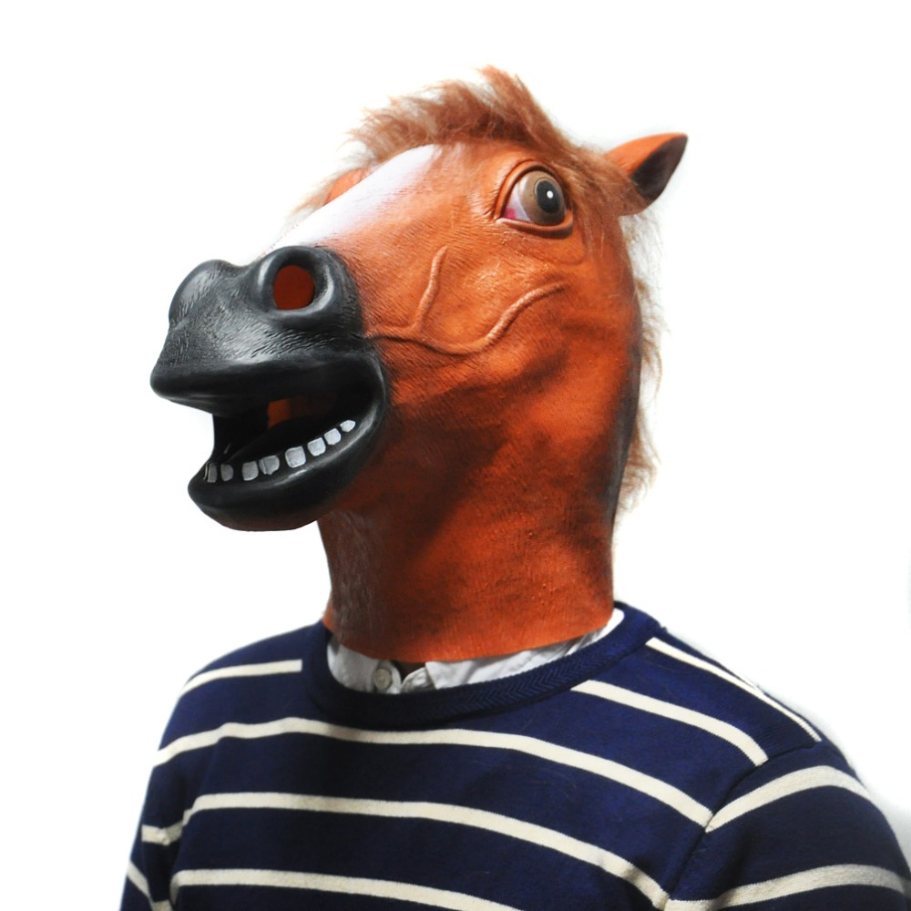 Compare Prices on Horse Mask Brown- Online Shopping/Buy Low Price ...