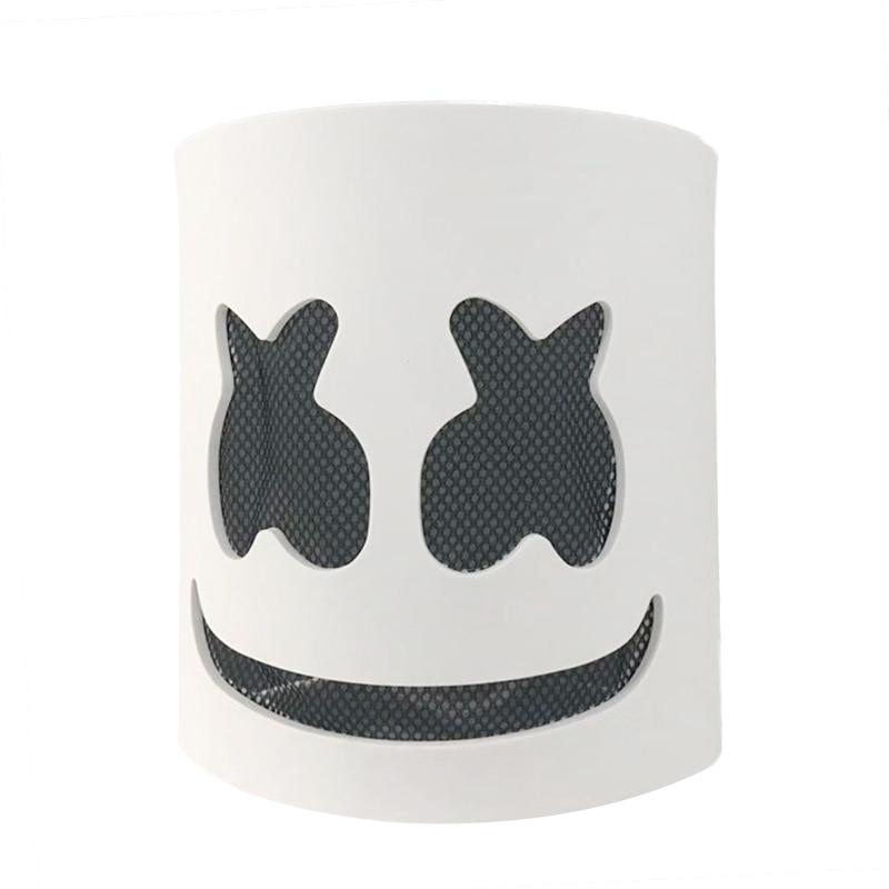 NEW DJ Marshmello Mask Hard Plastic Full Helmet Cosplay Fans Halloween Xmas Gift