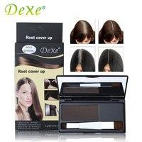 DEXE Marke Haar Färbung Produkte Abdeckung Grau Wurzel Abdeckung Up Pulver Schwarz Haar Farbe Pinsel Dye Temporäre Haar Dye Färbung creme