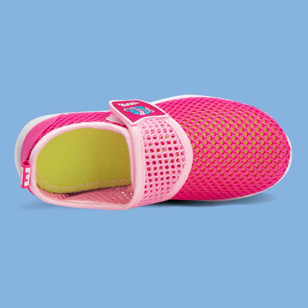 Zapatillas de deporte transpirables para bebés, niños, niñas, niños, niños, niñas, zapatos casuales, zapatos infantiles, zapatos para niños