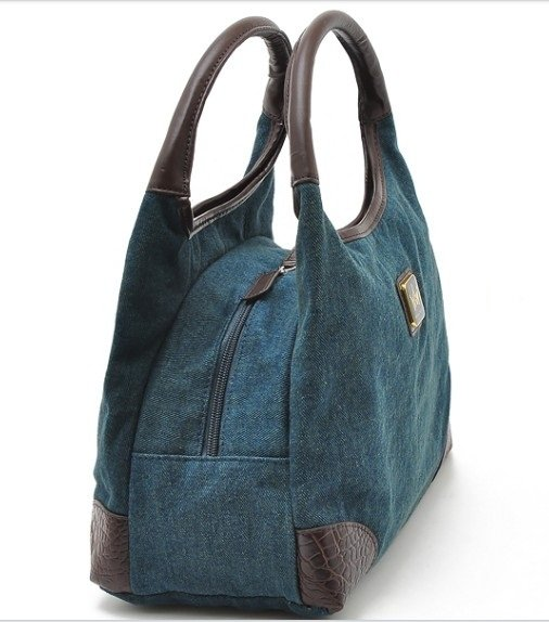 New Vintage Jeans Canvas Handbag Totes Shoulder Bag-in Top-Handle Bags from  Luggage   Bags on Aliexpress.com   Alibaba Group 75456f1bfc