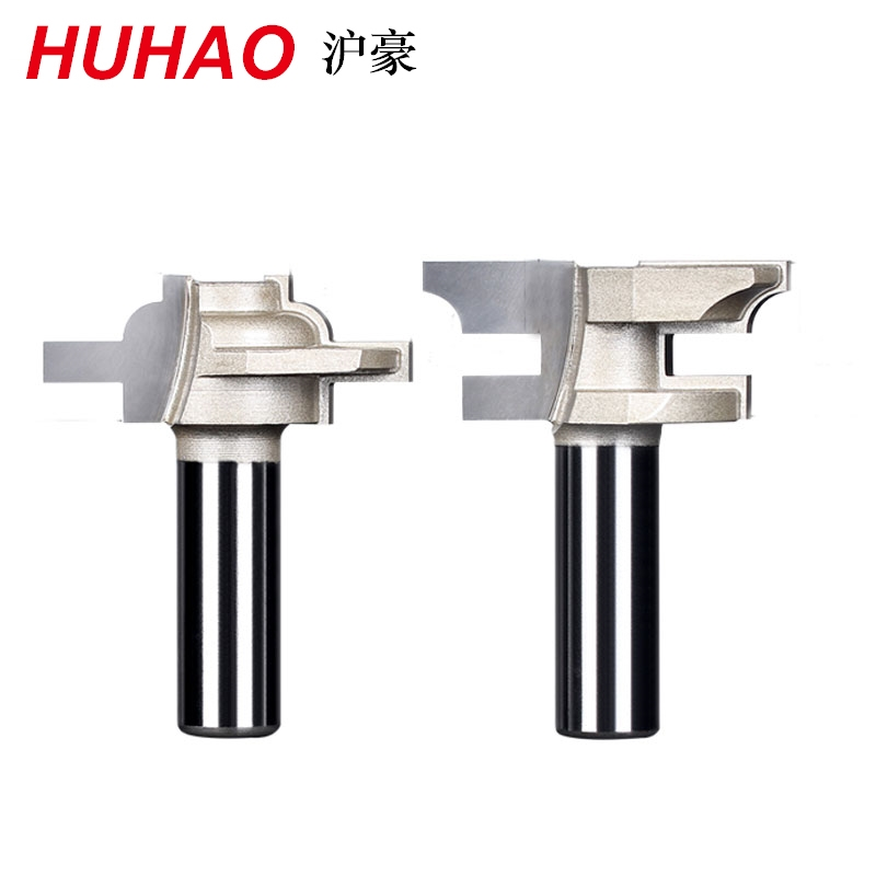 2pcs/set 1/2 SHK Woodworking Tool TONGUE & GROOVE BITS 1/2*3/8 Router Bits 2pcs tongue