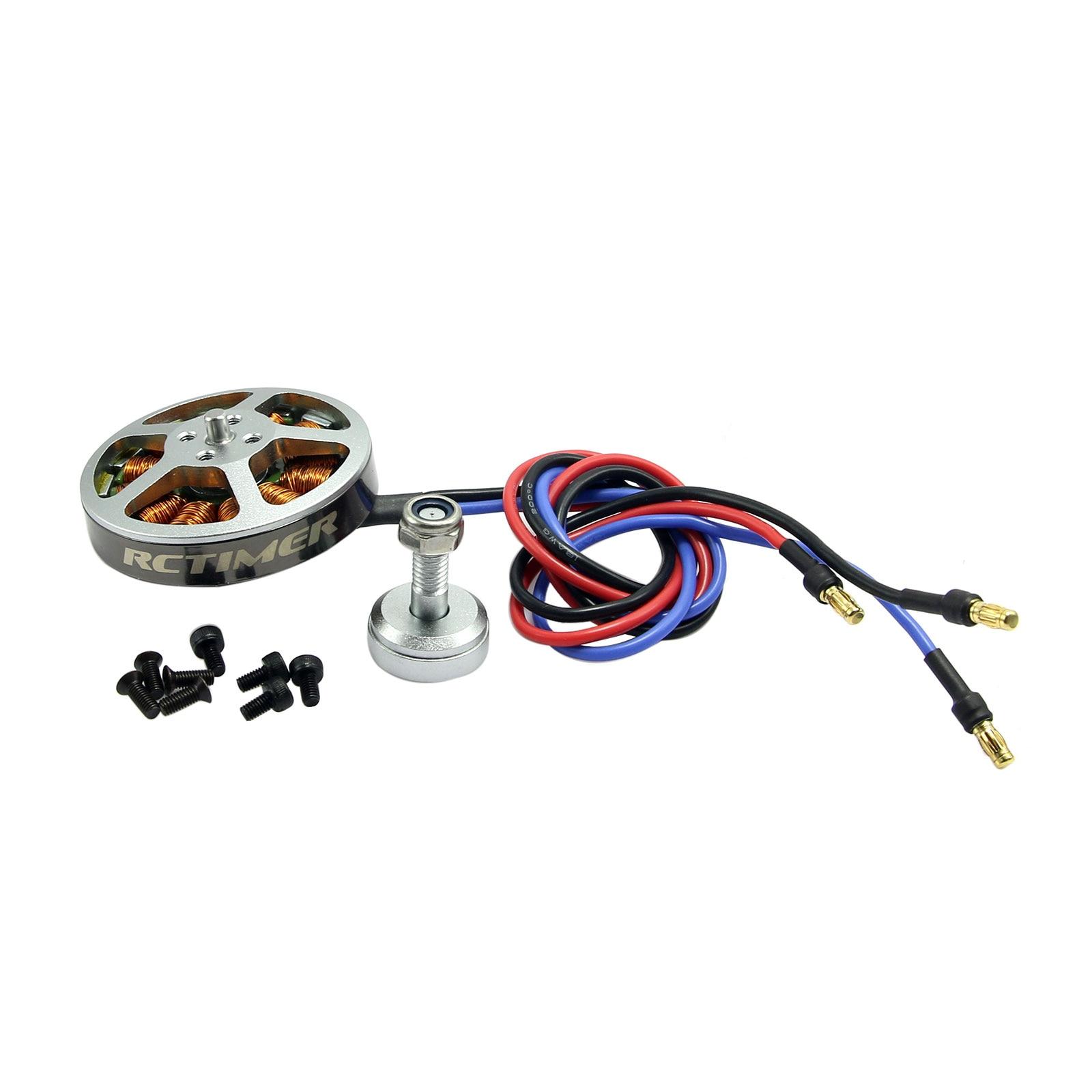 RCtimer 5010 360KV 530KV 620KV Disc Professional Brushless Motor for FPV Drone Quadcopter Multirotor