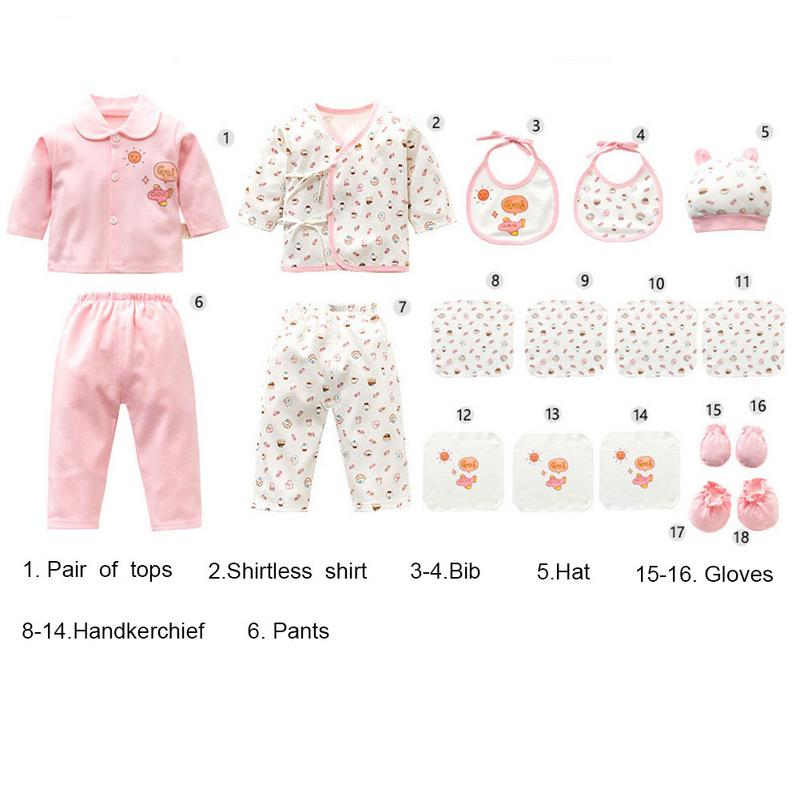 6639865605b 18Pcs Cotton Baby Clothes Newborn Gift Set 0-3-6 Months Newborn Full Moon  Baby Maternity Products Soft Cotton Clothes Suit - aliexpress.com -  imall.com
