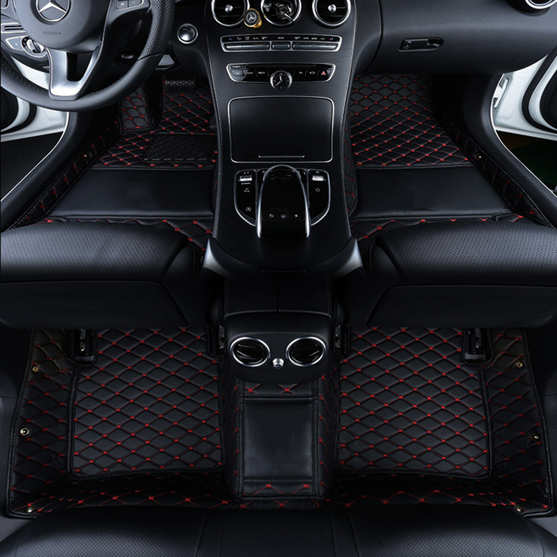 Custom logo car floor mats for tesla model 3 tesla model s model x auto Accessories car mats(China)