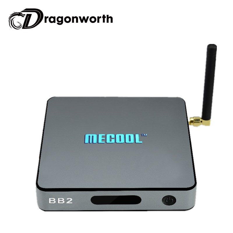 MECOOL BB2 ARM Cortex-A53 2G/16G Amlogic S912 64 bit Octa Core  Android 6.0 TV Box WiFi bt4.0 2.4G/5.8G H.265 4K Player