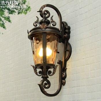 빌라 입구 램프 안뜰보기 복도 램프 야외 벽 램프 유럽 유형 방수 비 방수 야외 벽 램프 ap807958