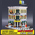 Lepin 15005 preventa 2182 unids grand city creator emporio kits de edificio modelo bloques de ladrillo compatible juguete juguetes educativos 10211