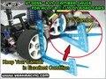 HSP 94123 94122 Aluminum alloy camber Adjustable Ruler measure tools RC car height & wheel Rim in stock