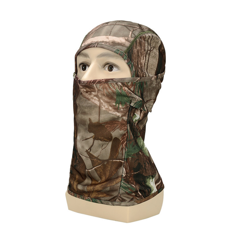 New out door Airsoft Camouflage Windproof Full Face Neck Guard Masks, Tactical Unisex protection Masks, Ninja Headgear Hat mask 3 color camouflage tactical face paint sticks 20ml