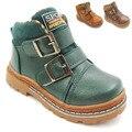2016 зимой дети сапоги приток мальчиков хлопок сапоги мода детская обувь sapato infantil зимние ботинки для мальчика