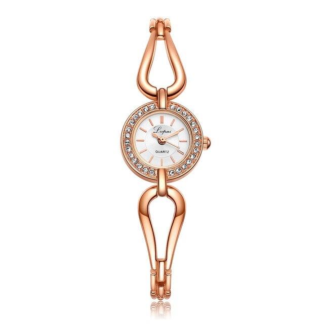 Lvpai Bracelet Women's Fashion Watch Simple Quartz Gift Watch Ladies Wrist Watch