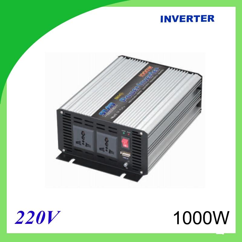 1000W Voltage Converter To 220V Modified Sine Wave Power Inverter 12V/24V 220V DC 5000w voltage converter to 220v modified sine wave power inverter 12v 24v 220v dc