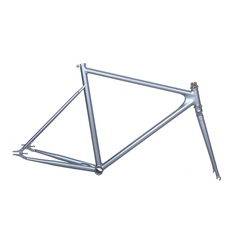 Customize Bicycle Frame 4130 Chrome Molybdenum Steel Fixie Bike Frame Road Bike Frame 700 C Frame  53 Cm 55 Cm 58cm 60cm