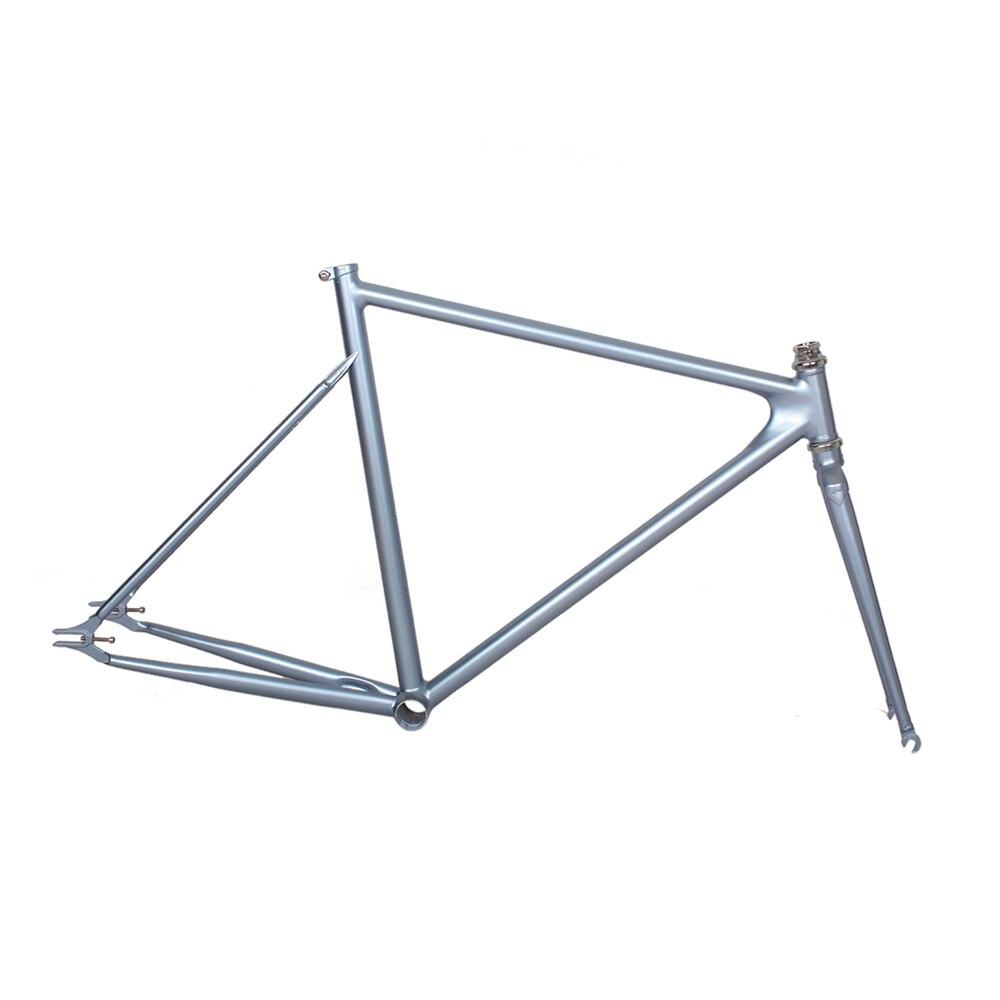 DIY bicicletta di colore Telaio 4130 in acciaio al Cromo molibdeno fixie strada telaio della bici telaio 700 C telaio 48 cm 50 cm 52 cm 54 cm