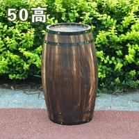 Oak 50cm high decorative wood wedding photography props grape cask wine cask barrel custom bar