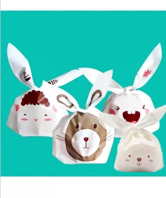 50 stks / partij 4 soorten Schapen Bunny Type Selectie Cookie - Home opslag en organisatie
