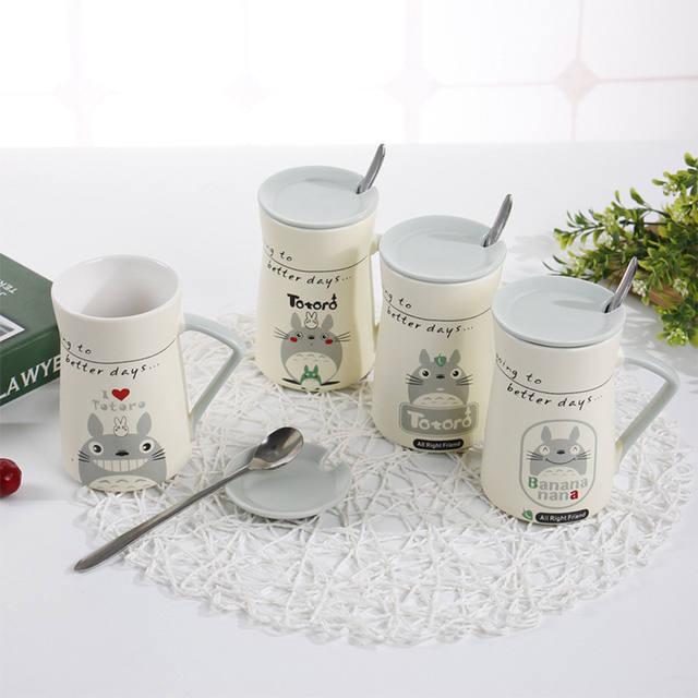 400ML Totoro Mugs (4 Design)