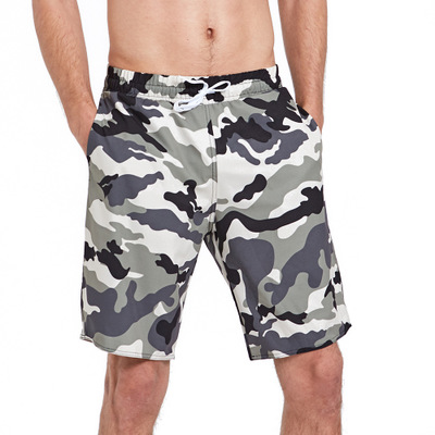 Camouflage   Board     Shorts   Men Water Sport Beach   Shorts   for Swimming Quick Dry Surf Swimsuit Men Swimwear Trunks   Short   Pants