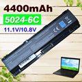 4400 mah bateria para toshiba dynabook qosmio t752 t852 b352 t572 T652 T752 T552 C50 Satélite C800 C800D C805 C850 C855 C855D