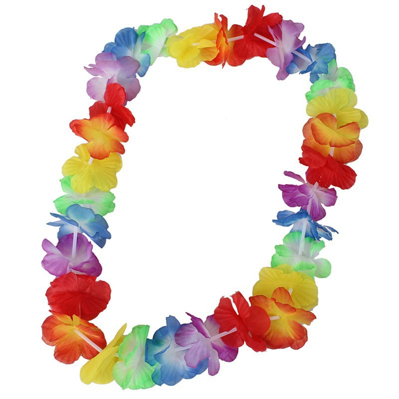 Hot sales party supplies silk hawaiian flower lei garland hawaii hot sales party supplies silk hawaiian flower lei garland hawaii wreath cheerleading products hawaii necklace p 1009 in artificial dried flowers from home mightylinksfo Image collections