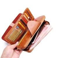 Kobiety portfele projektowe mody zamek monety kiesy prawdziwej skóry carteira mujer para sprzęgła telefon komórkowy cena dolara