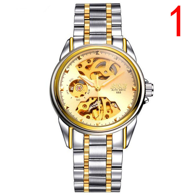 Watch mens automatic mechanical watch casual through the bottom of the simple large dial domestic mens watchWatch mens automatic mechanical watch casual through the bottom of the simple large dial domestic mens watch
